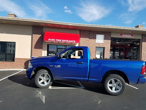 Dodge Ram with new Cooper Discover ST Maxx tires